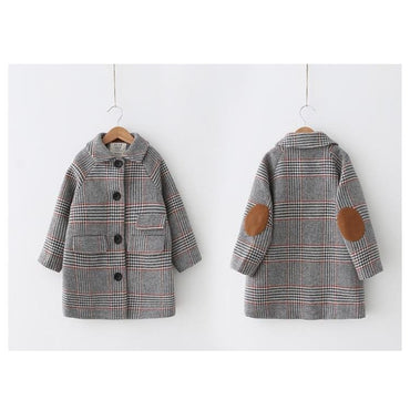 Autumn Warm Long Outerwear Children Windproof Jacket | daddysgirlclothing.com | DG Daddy's Girl | Daddy's Girl | Dresses for Prettiest Girls | Premium Children's Wear | Unique Children's Clothes | Trendy children's Clothes | Great Quality Fashion for Girls | Inexpensive Boutique | Adorable Clothes for Little Angels | Prettiest Girl on the Planet | Shop Now