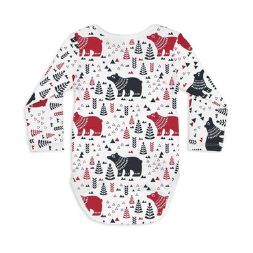 Long Sleeve Baby Bodysuit BEAR WITH ME - Long Sleeve