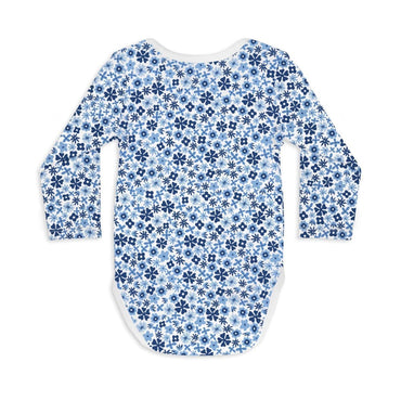 Long Sleeve Baby Bodysuit OOPSY DAISY - Long Sleeve Bodysuit