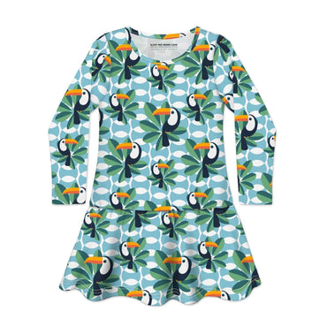 Long Sleeve Dress IF YOU CAN TOUCAN TOO - Dress