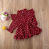 Ruffle Polka Dots Toddler Dressmedium