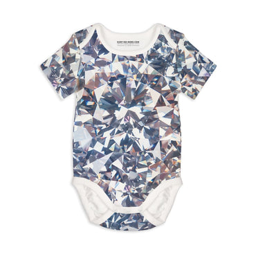 Short Sleeve Baby Bodysuit ARE A GIRL'S BEST FRIENDS - Short