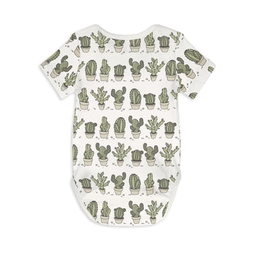 Short Sleeve Baby Bodysuit CAN'T TOUCH THIS - Short Sleeve