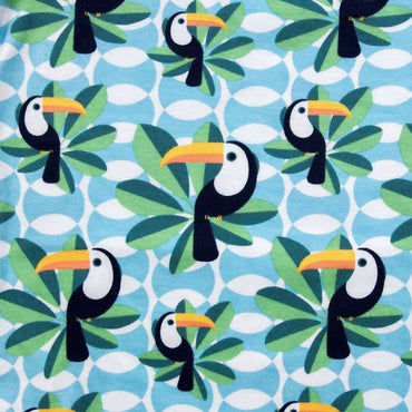 Short Sleeve Baby Bodysuit IF I CAN TOUCAN TOO - Short