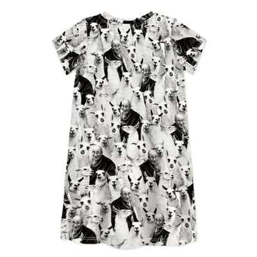 Short Sleeve Dress SUPER LLAMAS - Dress