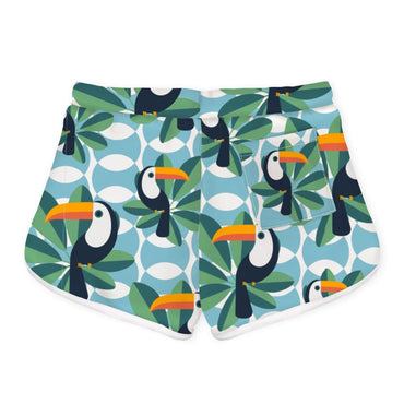 Trim Shorts IF I CAN TOUCAN TOO - Girls Shorts