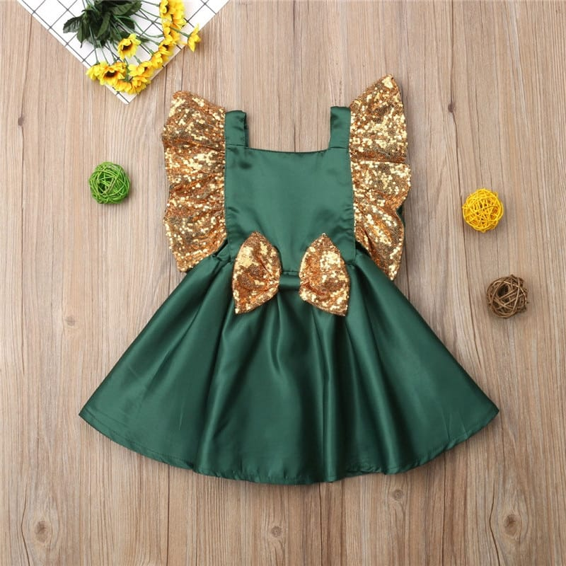 Elegant Christmas Formal Dress
